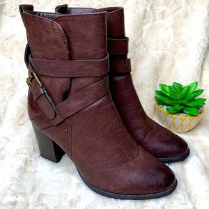 Cathy Jean | Brown | Booties | Ankle Boots